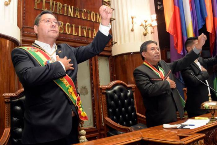 Luis Arce - Bolivien