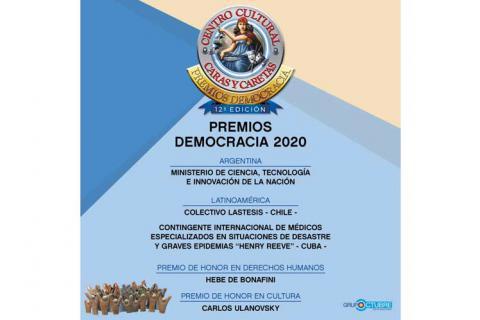 Demokratiepreis in Argentinien