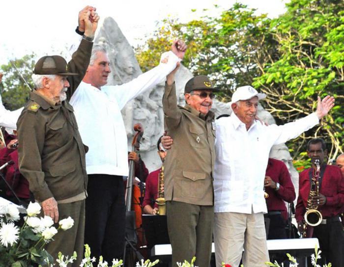 historische Kontinuität der kubanischen Revolution