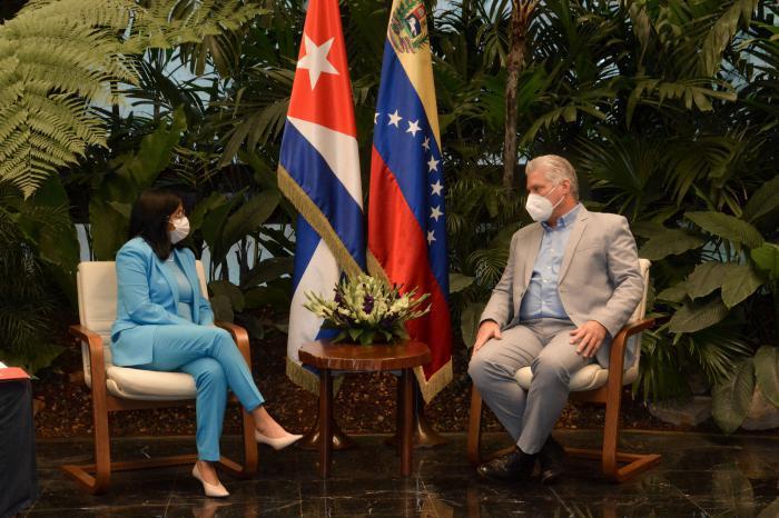 Treffen Kuba-Venezuela