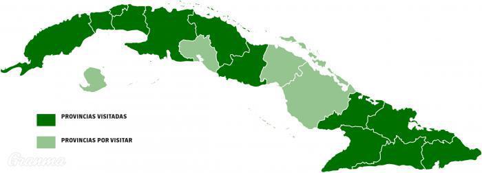 Kuba - Provinzen