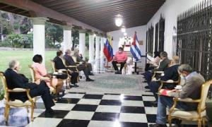 Cabrisas bei Maduro