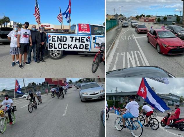 Karawanen für Kuba und gegen die Blockade