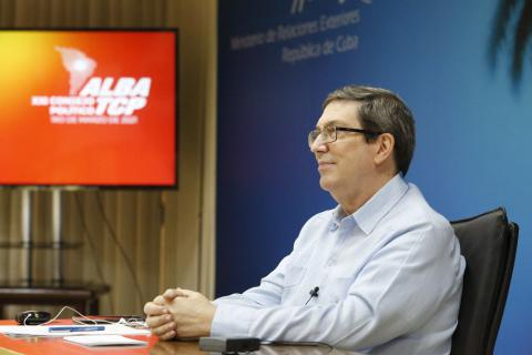 Kubanischer Außenminister / ALBA-TCP