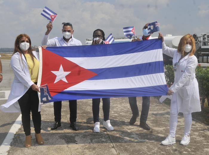 Engagement von kubas Ärzten