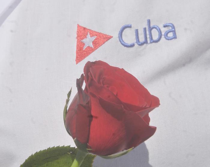 Kuba und Rose