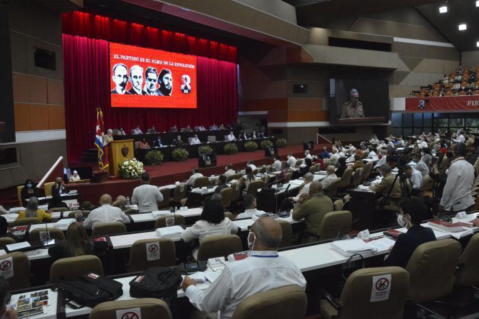 8. Parteitag der PCC - Vorstellung des Zetralberichts