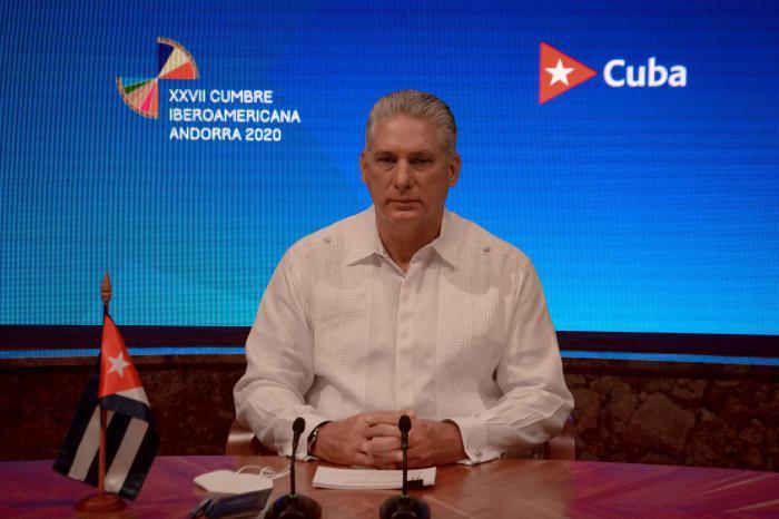 Díaz-Canel auf dem XXVII. Ibero-Amerikanischen Gipfel