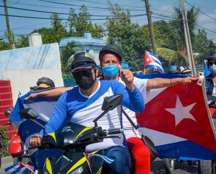 globale Karawane gegen die Blockade Kubas