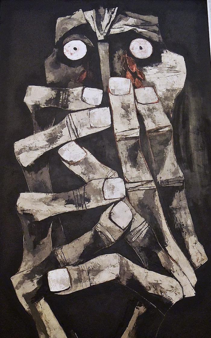 """""""Tränen aus Blut"""" von Oswaldo Guayasamín"""