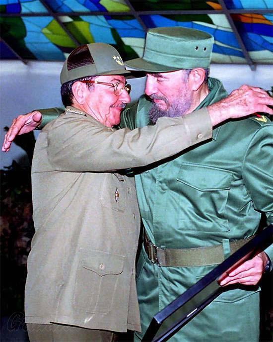 Raúl und Fidel