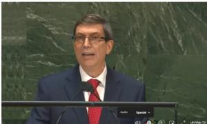 kubanischer Außenministers Bruno Rodríguez Parrilla