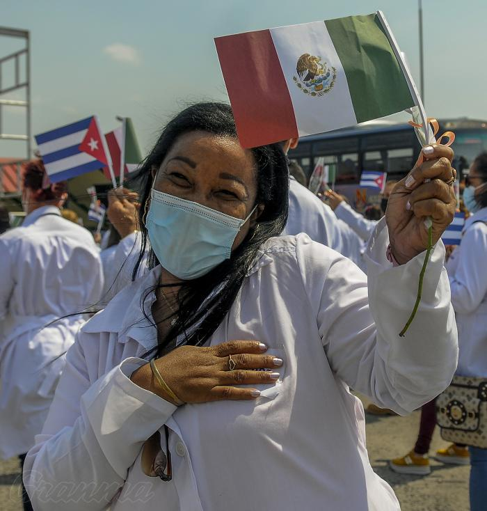 Kubanische Ärzte in Mexiko