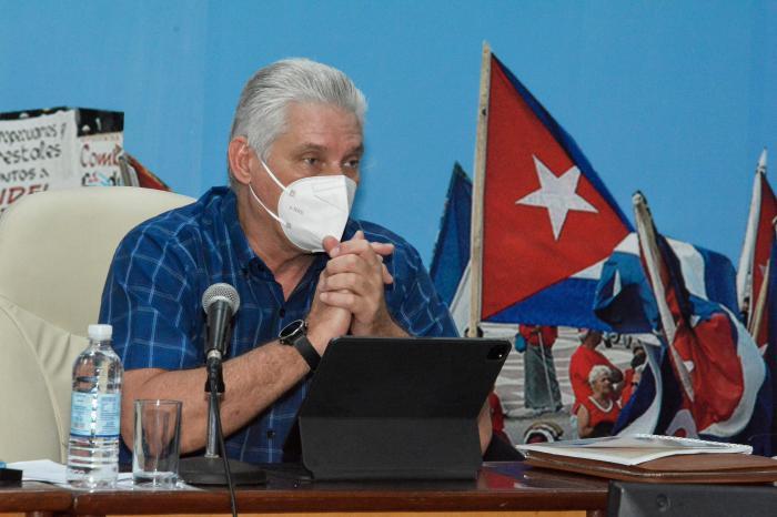 Präsident Diaz-Canel