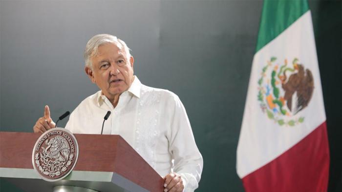 mexikanischer Präsident Andrés Manuel López Obrador