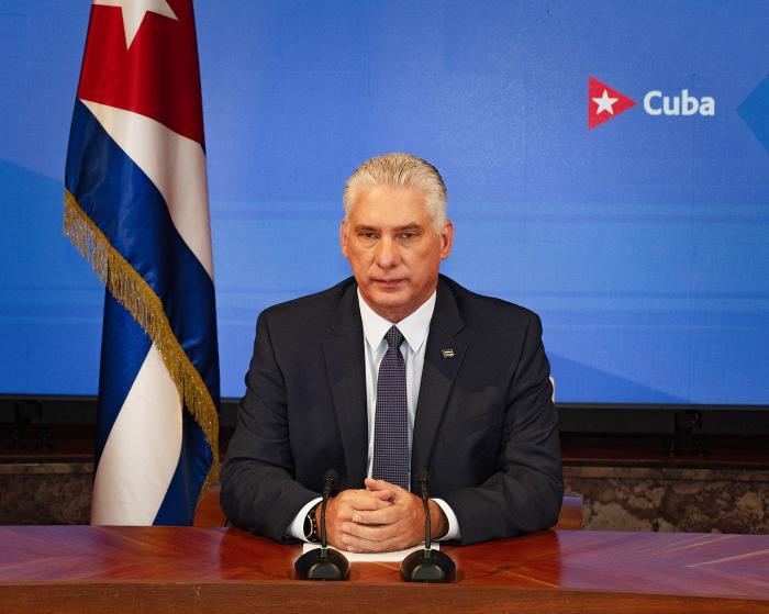 Präsident Miguel Díaz-Canel