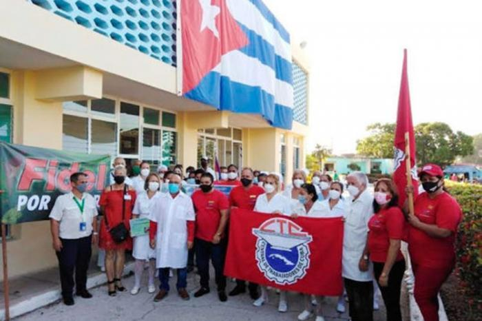 kubanische Arbeiter und die Gewerkschaftsbewegung